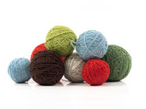 Wool balls Stock Photos