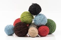 Wool balls Royalty Free Stock Photo