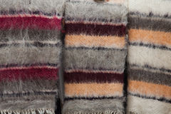 Wool blanket Royalty Free Stock Photos