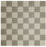 Wool blanket in the checkered Stock Images
