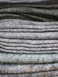 Wool blankets. Some simple but colorful wool blanket Royalty Free Stock Photography