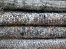 Wool blankets. Some simple but colorful wool blanket Royalty Free Stock Images