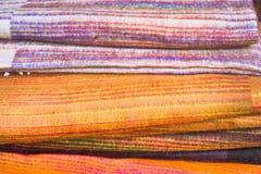 Wool blankets Stock Image