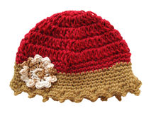 Wool cap for child Royalty Free Stock Photography