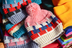 Wool cap Royalty Free Stock Image