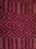 Wool carpet. Weaving stock photography