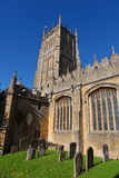 Wool church in the Cotswolds Royalty Free Stock Photo