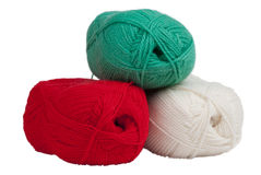 Wool clews Stock Photos