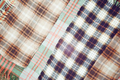 Wool cloth cell Stock Photo
