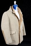 Wool Coat beige Stock Images
