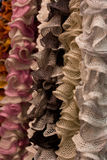 Wool and cord reels Royalty Free Stock Images