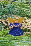 Wool decoration angel. Royalty Free Stock Photo