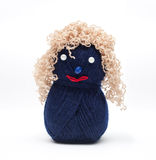 Wool dolls. Made ​​by hands Royalty Free Stock Image