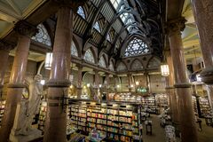 The Wool Exchange (waterstones) stock images