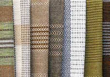 Wool fabric background Royalty Free Stock Image