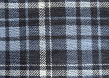 Wool fabric checked texture for background Royalty Free Stock Image