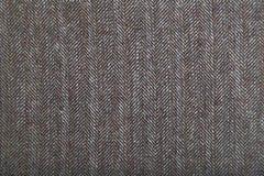 Wool fabric with gray geometric pattern Royalty Free Stock Photo