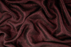 Wool fabric, maroon colour with shine Royalty Free Stock Images