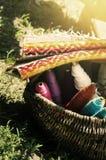 Wool Fabric Royalty Free Stock Photo