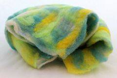 Wool felting Stock Images