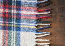 Wool Flannel Blanket Stock Images