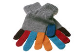 Wool glove Royalty Free Stock Images