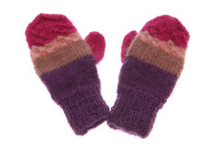 Wool gloves Stock Photo