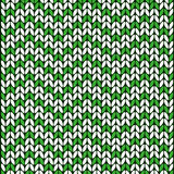 Wool green and white color texture  Royalty Free Stock Image