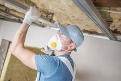 Wool Home Insulating Royalty Free Stock Photo