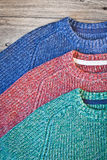Wool jumpers Stock Photography