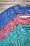 Wool jumpers Royalty Free Stock Images