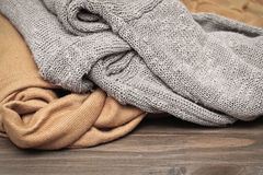 Wool jumpers Royalty Free Stock Photography