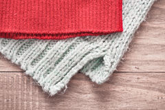 Wool jumpers Stock Image