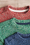 Wool jumpers Royalty Free Stock Photo