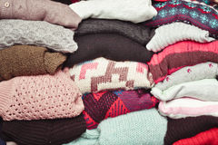 Wool jumpers Royalty Free Stock Image