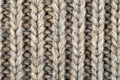 Wool knitted background closeup Stock Image