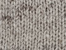Wool knitted textured background Royalty Free Stock Photography