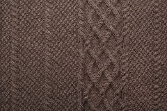 Wool knitted pattern. In the background Stock Photography