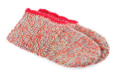 Wool Knitted Socks Royalty Free Stock Photos