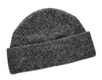 Wool knitted winter hat Stock Photos