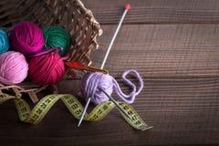 Wool knitting Stock Photos