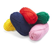 Wool knitting needlecraft Stock Images