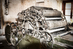 Wool mechanism Royalty Free Stock Images