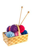 Wool for needlework Royalty Free Stock Images