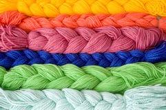 Wool pattern Royalty Free Stock Image