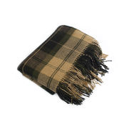 Wool plaid Stock Images