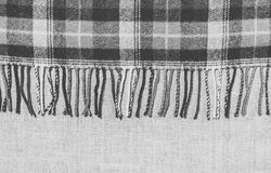 Wool plaid warm plaid Stock Photography