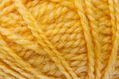 Wool rope close-up background Stock Image
