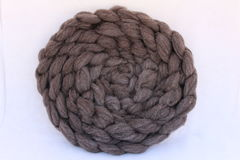 Wool roving Stock Photography
