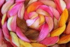 Wool roving Royalty Free Stock Photography